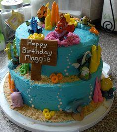 Finding Nemo Birthday Cake - Creative Sweets