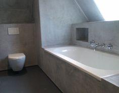 betonlook te verkrijgen bij talsma meubels friesland. | beton, Badkamer