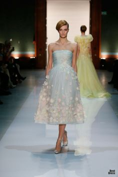 Georges Hobeika 2014\ embroidered skirt