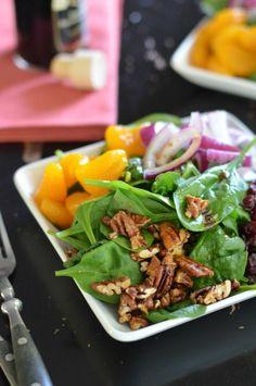 Super Sweet Spinach Salad.