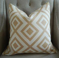 Decorative Designer Pillow Cover  18X18  David by elegantouch, $62.00