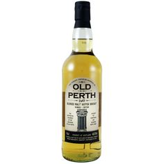 A blend of peated Single malt. There would be 4 different whiskies from the west of Scotland in this blended malt. Perth, Whisky, Whiskey Bottle, Bottles, Drinks, Whiskey, Drink, Beverage, Drinking