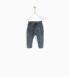 TROUSERS WITH RELIEF DETAIL-NEW IN-BABY BOY | 3 months - 4 years-KIDS | ZARA United States