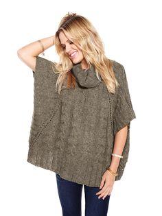 Thyme Maternity cozy knit sweater - Fall 2013 #ThymeMaternity #MaternityFashion