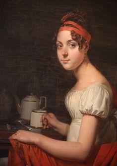 Martin Drölling, Portrait of the artist's daughter Louise-Adéone, 1812