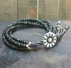 A beautiful braided bracelet, if you are planning to make a friendship bracelet, you can take this one into consideration