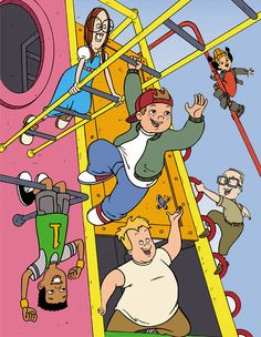 THE most awesome cartoon of my childhood. Ah, good times. 90s Tv Shows, Cartoon Tv Shows, Kids Shows, Cartoon Art, Recess Cartoon, Right In The Childhood, Childhood Tv Shows, 90s Childhood, Childhood Memories