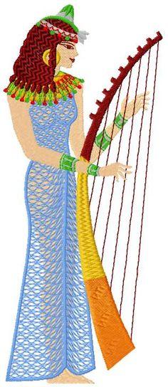 Egypt free embroidery design