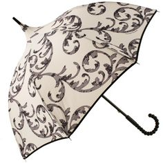 a personal tent... Rococo Lace Umbrella by Chantal Thomass...
