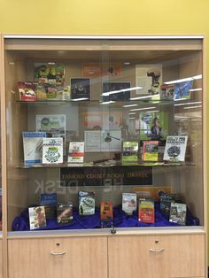 Law week 2016.  Display in Wollongong Library