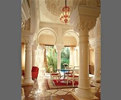 A cupola, one of four, tops the dining area of the Favorite Villa. The grand…