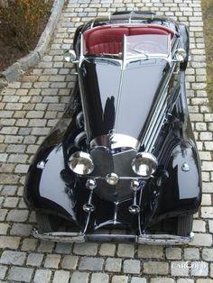 Mercedes 540 Specialroadster Beuerberg, pre-war, Stefan C. Luftschitz, Beuerberg, Riedering