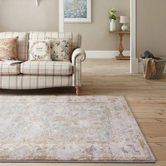 Modern Weave Silvia Collection Traditional Vintage Floor Rug Gold Beige SIL01 155x225cm 190x280cm Modern Weave- Rugaustralia