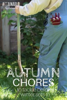 Handling fall clean up chores and preparing for one last garden crop makes autumn a busy time of year on the homestead or urban farm. Are these chores on your to do list?