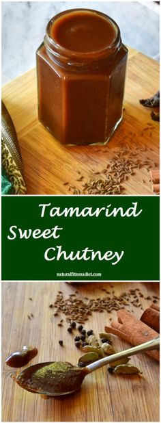 Tamarind Sweet Chutney,  made with seedless Thai tamarind, sea salt, and spices…