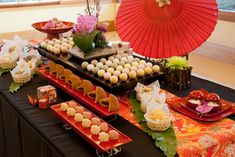 Japanese Table, Dessert Buffet, Wedding Images, Table Settings, Table Decorations, Desserts, Food, Home Decor, Weddings