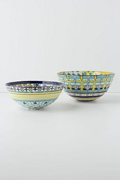 Patchwork Harvest Bowl, Large | Anthropologie.eu