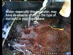 In the case of water removal, oriental rug care use high technic of hand washing.