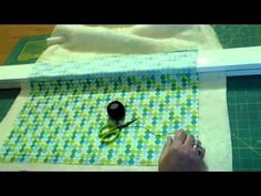 ▶ Basting a Quilt - The Easy Way! - YouTube  Unique! Love using the table and boards.