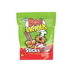 Petisco Dog Licious Carne e Bacon 65gr. #petmeupet #petisco #cachorro #doglicious #bacon #promocao #desconto.