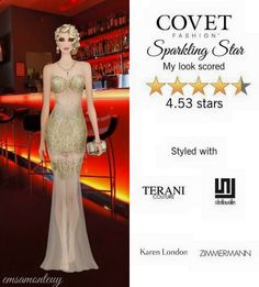 Sparkling Star @covetfashion  #covetfashion