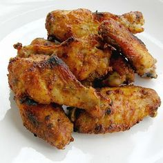 Portuguese Style Chicken Wings :)   (my great grandpa is Portuguese so I thought I should learn something about their food :)