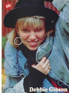 Use to love Debbie Gibson when I was a kid :)