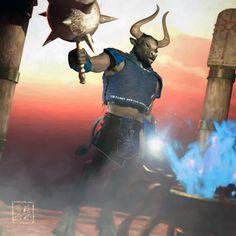 Minotaur warlock