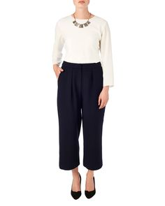 Marissa Wide Leg 7/8th Trousers