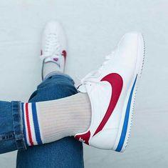 b8000a0b Pinterest @IIIannaIII 🌹 💦 Nike Cortez Kids, 90s Sneakers, Sneakers Women,  Nike