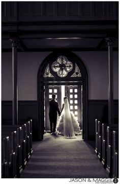 St Patrick's Church Bridgeport CT Wedding Photo by Jason Loves Maggie    www.jasonloves.com  www.facebook.com/jasonandmaggie  #stpatricks #churchwedding #grandexit