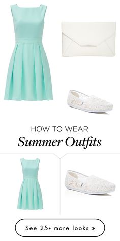 """""""Summer outfit!!!"""" by ruth-sosnitska on Polyvore featuring Kate Spade, TOMS and Style & Co."""