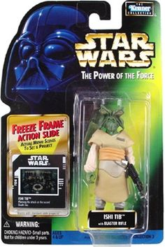 Ewoks Wicket Logray 1997 STAR WARS Power of the Force POTF FF Freeze Frame
