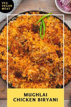 Chicken Dum Biryani Recipe, Spicy Chicken Recipes, Veg Recipes, Curry Recipes, Indian Food Recipes, Sushi Rice Recipes, Chaat Recipe, Biryani Recipe Video, Tandoori Masala