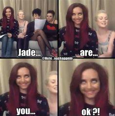 @Jade Alvarez Thirlwall ✔ you okay there? Hahaha :)xx