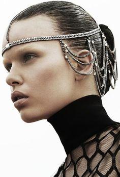 JOJO POST FASHION: wearable technology. Modern, Insane Cyberpunk Hair, futuristic fashion, cyber fashion, futuristic look, Shoes, Night, Day, Girl, Teen, woman, Man Fashion. Hat, Cuff, Bracelet, Nail, futuristic boy, cyberpunk, cyber punk, cyber hair, future fashion. Steam, carapace, future, sexy, make up, futuristic, futurism, sci-fi, scifi, futuristic girl, futuristic style, futuristic fashion.