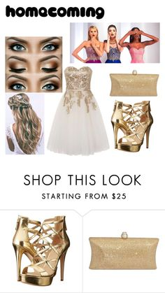 """""""Untitled #15"""" by lynzi-siglin ❤ liked on Polyvore featuring GUESS and Chi Chi"""