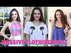 Try-On Clothing Haul! Tillys, American Apparel, Abercrombie & More!!