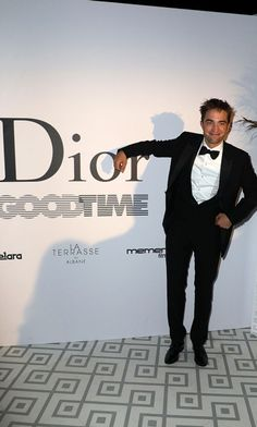 Robert Pattinson is always looking for a good time! The actor celebrated his new film Good Time at Club Albane in Cannes.