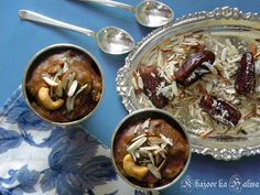 Khajoor ka Halwa (Indian Dates Pudding)