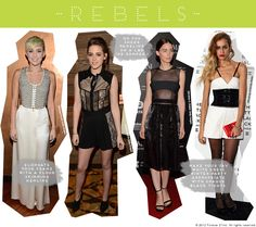Rebel Style: Miley Cyrus, Kristen Stewart, Rooney Mara, and Someone Else