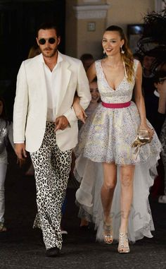 Beatrice Borromeo y Pierre Casiraghi en Capri