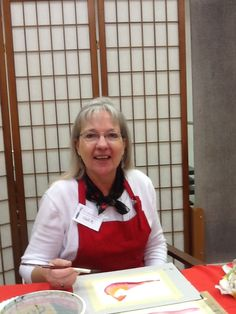 """My watercolor demonstration.  """"Christmas cards"""""""