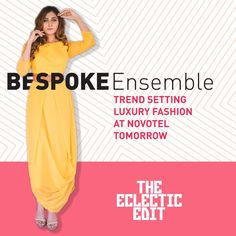 With 50 curated designers and their fresh summer collection and festive wear. Event Details: Tomorrow, 17th Feb 11:00 AM - 09:00 PM Novotel, SG Highway, Ahmedabad  #Exhibition #Popup #Fashion #Clothing #Apparels #SummerCollections #festivewear #KnottyTales #WeekendWindow #TheEclecticEditSeason2 #NovotelAhmedabad #CityShorAhmedabad