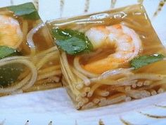 soba kanten . . . . . おさらいキッチン | NHKあさイチ「そばのお通し寒天」のレシピby照井律解決!ごはん 2月20日 Asian Recipes, Ethnic Recipes, Japanese Food, Food And Drink, Sweets, Cooking, Kitchen, Gummi Candy, Candy