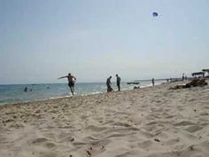 Tunisia: Hammamet Beach - YouTube