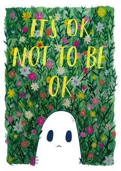 Lize Meddings and Laura Cox started Sad Ghost Club, a series of illustrations which has since expanded, as a way of helping people with mental illness. Planner 2018, Illustrations, Ghibli, Cute Art, Collages, Art Drawings, Creepy, Doodles, Artsy