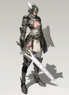 That armor is beautiful, and I especially like the chain along the shoulder area. -Z
