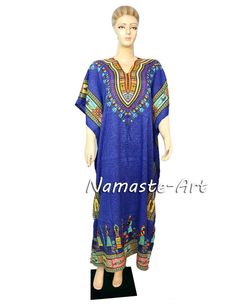 Indian Cover Any Floral All Season Design Casual Beach Free Size Wear Maxi Dress #Unbranded #Kaftan #Casual