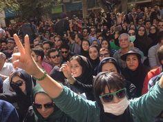 بالصور: مظاهرات حاشدة في أصفهان وطهران تطالب بإسقاط نظام الملالي في إيران